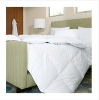 Square Grid---Duck Down Quilt Doona Comforter Blanket Bedding White Queen Or Make Any Size 370GSM