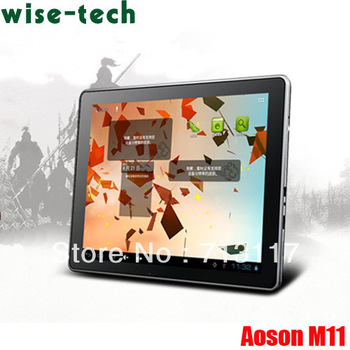 "2013 popular phone! Aoson M11 RK3066 Dual Core Tablet PC 9.7"" IPS 16GB HDD Android 4.0+free Leather Case/ Emma"