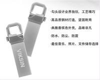Free shipping 8g usb flash drive usb flash drive metal waterproof usb2.0 anti-rattle  wholesale