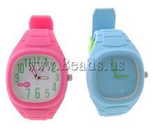 Free shipping!!!Fashion Watch Bracelet,Men Fashion Jewelry, Plast mixed colors, 42mm, 19mm, Length:10 Inch, 5PCs/Lot