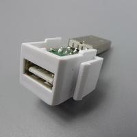 keystone USB USB F/M wall plate