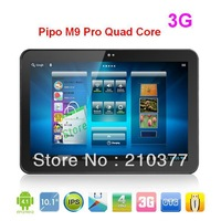 10.1 inch Pipo M9 Pro Quad Core 3G WCDMA Tablet PC RK3188 Cortex A9 1.6GHz Android 4.2 2G 32GB Bluetooth WIFI HDMI