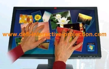 "10  fingers points 52""  Infrared multi touch screen frame panel kits / High quality with competitive price"