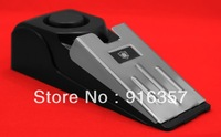 Fedex Free Shipping  --- Wholesale 100 Pieces / 3 Sensitivity Stainless Door Stop Alarm