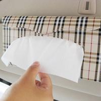 Sun-shading board tissue box frame towel clip car box tissue pumping box