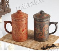 Yixing cup handmade liner tea set with lid cup