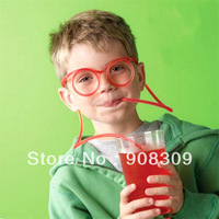 2013 Wacky Fun Silly Straws Popular Glasses Straws For Drinking Kid Party Favor Creative Christmas Gift 10pcs/Lot Free Shipping