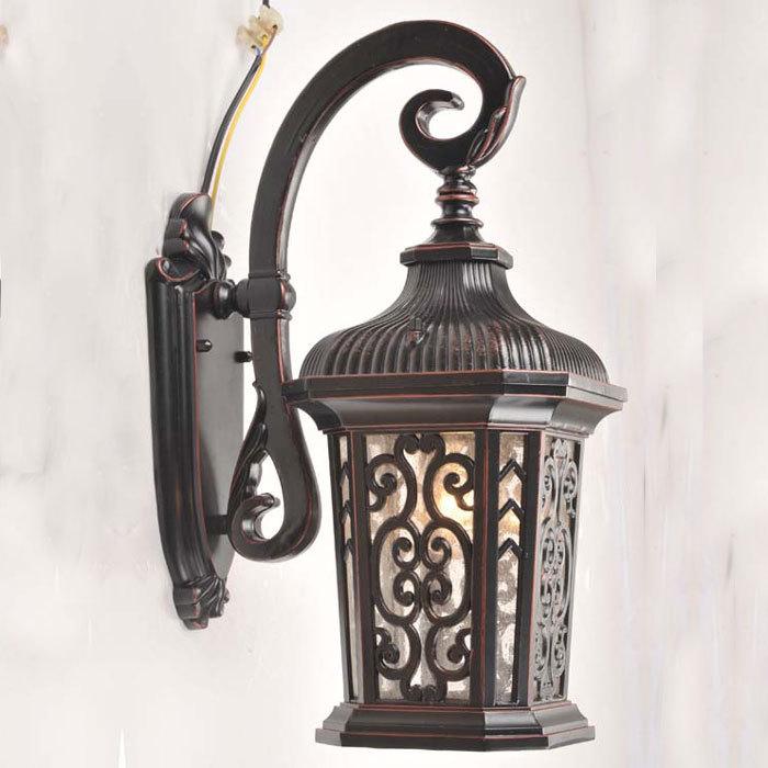 specchio lampada applique da parete moderno creativo arte lampada da ...