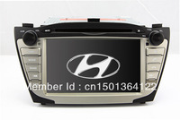"7"" 2-Din In Dash Car DVD Player GPS Navigation for Hyundai Tucson IX / IX35 2009-2012 with TV Stereo Radio RDS Video Bluetooth"