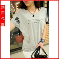 Mushroom women's 2013 summer clothes female t-shirt women's short-sleeve t-shirt s