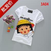 E women's t-shirt angel short-sleeve top clothes women's