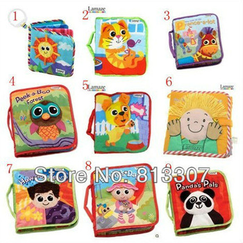 10 styles To Choose Lamaze Books Lamaze Baby's Early Development Toys Cloth Book Fairy tale story baby kids toys Free Shipping