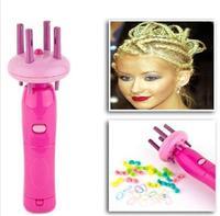 IGIA Spin-a-Twist Braid & Spiral in Seconds. New. Kids bead craft. Hair braiding ID:2013033003
