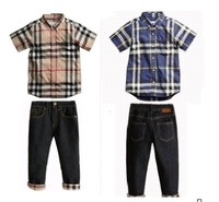 2013 New, retails ,Free Shipping,boys suit, good gift for your boys ,kids suit,boy clothes set 1set/lot--JYS16