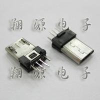 Micro 5p usb plug socket mike plug plywood