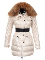 2013 Fashion hot salewomens winter jacket,90% duck's down made,Christmas promotion totally save 70%,2 cocors