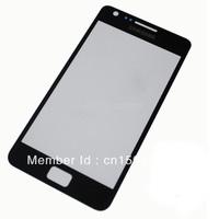 Black New for Samsung Galaxy S2 i9100 Outer Screen Lens Glass Original