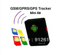 Spy Tracker Box Surveillance Listening Device - Room Bug GSM GPS Audio Device mini A8