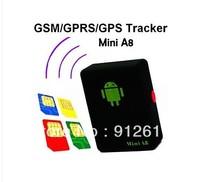 car Tracker Box  Environmental monitoring  GSM GPS Audio Device mini A8 children elder