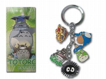 Totoro 5 mobile phone pendant totoro doll keychain