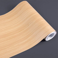 Magic fix wood grain self adhesive paper waterproof furniture refrigerator kitchen cabinet