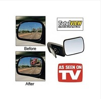 120pcs/lot 360 Rotating TOTAL VIEW Adjustable Blind Spot Mirror Car Panoramic Rear View Mirror Monitor