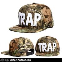 Trap hip-hop cap hiphop hat adjustable bboy hiphop cap baseball cap flat hat