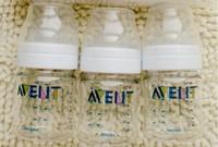 Original AVENT Baby Feeding Bottle / Nursing Bottle / Feeding 4oz 125ml 3 Piece / Pack Brand New