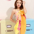 Swimwear bikini all-match mantillas yarn chiffon beach towel yarn 3