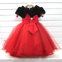 Children's clothing female child princess dress one-piece dress flower girl dress skirt wedding dress puff skirt dress birthday