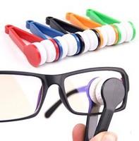 Mini Microfiber Glasses Eyeglasses Cleaner Cleaning Clip (Random Color)  5Pcs \ lot