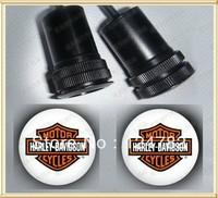 Free shipping LED Car Laser Projector Door LED Logo Light Fit for Harley Logo 184 2pcs
