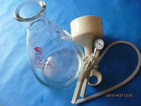 5000ml (5L)  Buchner Funnel Apparatus, Filting Funnel Kit, with hand vacuum pump