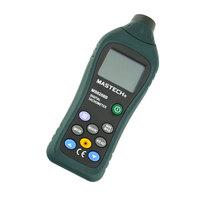 MASTECH MS6208B 5-digit LCD Non-contact Laser Digital Tachometer Meter Tester 50RPM-99999RPM