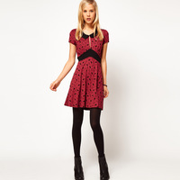 2013 new fashion summer women's short-sleeved dress bunny burgundy