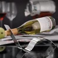 Fashion stainless steel wine rack serpiform theroom wine racks style