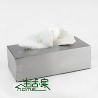 Fashion fashion stainless steel towel rack car tissue box tissue box wall screw