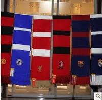The football team knitting wool scarf