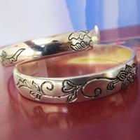 Vintage national accessories bracelet tibetan silver personalized silver bracelet