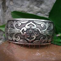 Silver bracelet handmade national vintage fashion trend silver jewelry tibetan silver lucky