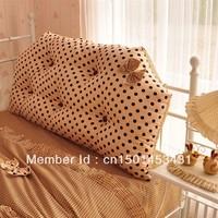 free shipping Ofhead cushion ofhead big waist pillow princess polka dot core piece set bedding