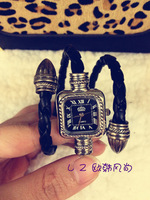Vintage gentlewomen accessories plate bracelet watch fashion women's watch gift watch