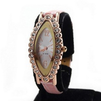Silver fashion bracelet watch watchband ladies watch women's watch 5