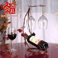 Fashion red wine rack cup holder fashion hanging cup holder wine glass rack