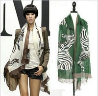 2013 South Korea spring autumn period new extended beach shawl BaLiSha big zebra scarf scarves shawls brand pashmina women