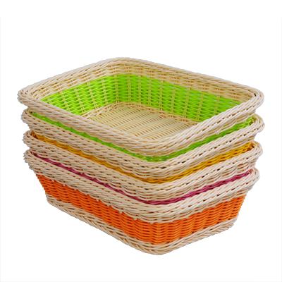 Moda lanche de frutas prato de frutas e vegetais bandeja de pão cesta de armazenamento de brinquedos eco box malha pequeno(China (Mainland))