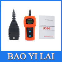 U380 OBD2 CAN BUS & Engine Code Reader U380 Code Reader Scanner for Asian European