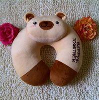 free shipping Cute Cartoon monkey Pattern Design Travel car home pillow U shape Neck pillow / rest pillow  4 color