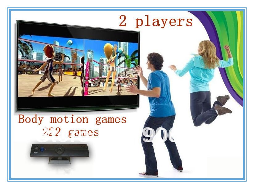 Le plus populaire cadeau d'anniversaire 222 jeux construite- en 32 bit interactive tv vidéo joueur de jeu