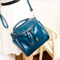 2013 women's handbag candy color small bag, fashion vintage cross-body bag, shoulder bags day clutch women's